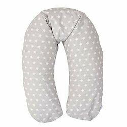 Babymatex Kojicí polštář Relax Stars šedá, 190 cm