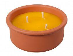 Repelentní svíčka citronela 18 cm, Nohel Garden