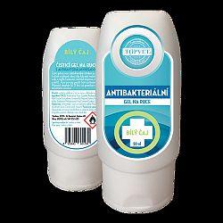 Topvet Antibakteriální gel na ruce Bílý čaj 50ml